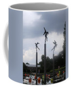 Three Angels At Missouri Botanical Garden Coffee Mug