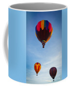 Three Balloons Coffee Mug by Inge Johnsson