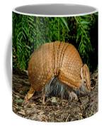 Three-banded Armadillo Hunting Coffee Mug