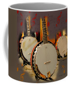Three Banjoes Coffee Mug