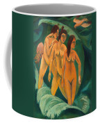 Three Bathers Coffee Mug