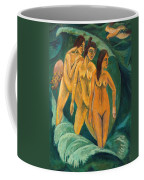 Three Bathers Coffee Mug