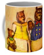 Three Bears Family Portrait Coffee Mug by Bob Orsillo