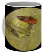 Three Books Coffee Mug