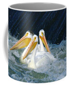 Three Buddies Hanging Out Coffee Mug