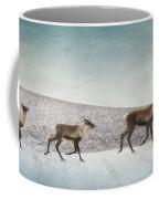 Three Caribous Coffee Mug