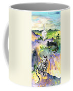Three Cats On The Penon De Ifach Coffee Mug