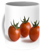 Three Cherry Tomatoes Isolated Coffee Mug