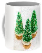 Three Christmastree Cupcakes  Coffee Mug