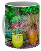 Three Colorful Pots Coffee Mug