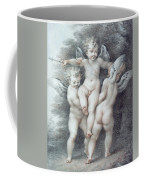 Three Cupids Coffee Mug
