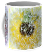 Three Dandelions In A Line Coffee Mug