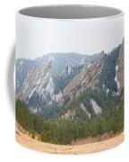 Three Flatirons Boulder Colorado Coffee Mug