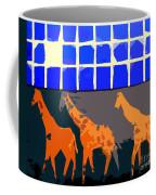 Three Giraffes Coffee Mug