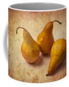 Three Golden Pears Coffee Mug