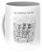 Three Hysterically Blind Mice Coffee Mug