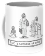 Three Images Of A Baby Coffee Mug