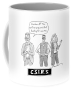 Three Investigators/irs - Two Men Coffee Mug