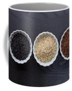 Three Kinds Of Rice Coffee Mug
