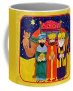 Three Kings And Camel Coffee Mug