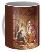 Three Kings Worship Christ Coffee Mug by William Brassey Hole