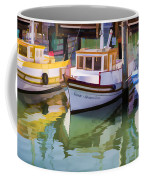 Three Little Boats Coffee Mug