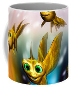 Three Little Fishies And A Mama Fishie Too Coffee Mug