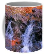 Three Little Forks In The Waterfall Coffee Mug