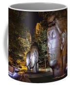 Three New Faces In Chicago's Millennium  Park Coffee Mug