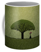 Three Of Green Coffee Mug by Gianfranco Weiss