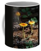 Three Orange Mushrooms Coffee Mug