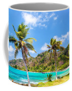 Three Palm Trees In Panama Coffee Mug