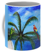 Three Parrots Coffee Mug