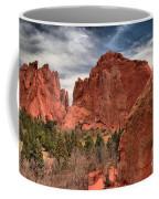 Three Red Towers Coffee Mug