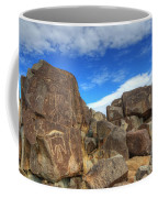Three Rivers Petroglyphs 2 Coffee Mug
