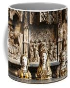 Three Saints In Marble Coffee Mug