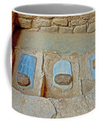 Three Stones For Grinding Corn In Spruce Tree House In Mesa Verde National Park-colorado Coffee Mug