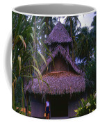 Three Story Hut 2 In Color Coffee Mug