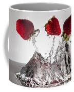 Three Strawberries Freshsplash Coffee Mug