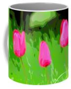 Three Tulips - Painting Like Coffee Mug
