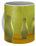 Three Vases II Coffee Mug