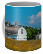 Three White Barns Coffee Mug