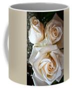 Three White Roses Coffee Mug
