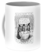 Three Witches Stir A Large Wok Coffee Mug