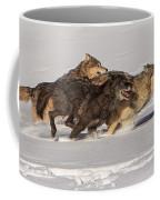 Three Wolves Coffee Mug