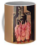 Three Women On The Street Of Baghdad Coffee Mug