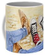 Three's A Crowd  Coffee Mug