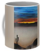 Thriving In The Desert Coffee Mug by Sayali Mahajan