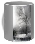 Through Glass -- A Tree In Winter Coffee Mug