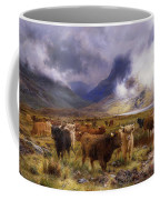 Through Glencoe By  Way To The Tay Coffee Mug